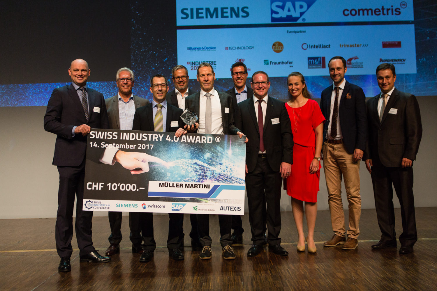 Swiss Industry 4.0 Conference - Müller Martini gewinnt Swiss Industry 4.0 Award