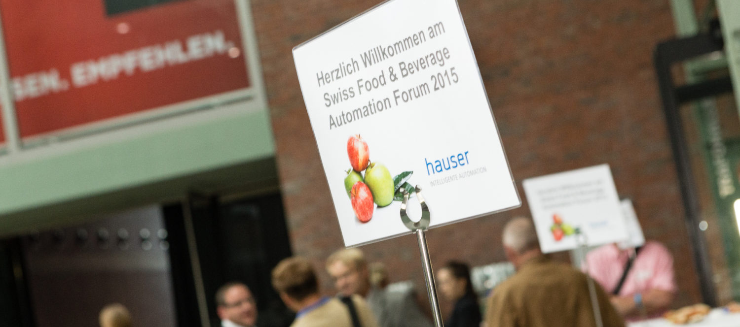 2. Swiss Food & Beverage Automations-Forum: Autexis neu auf dem Markt